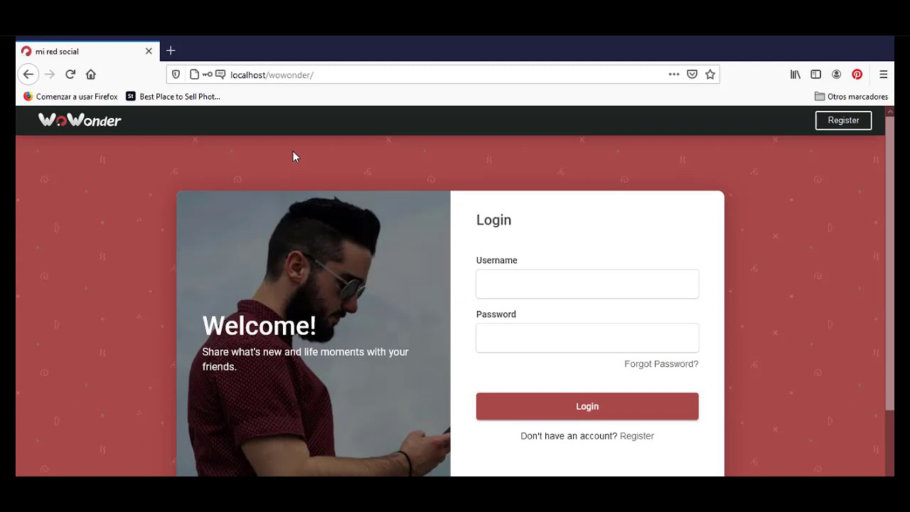 Instalar Red Social WoWonder   Script en PHP