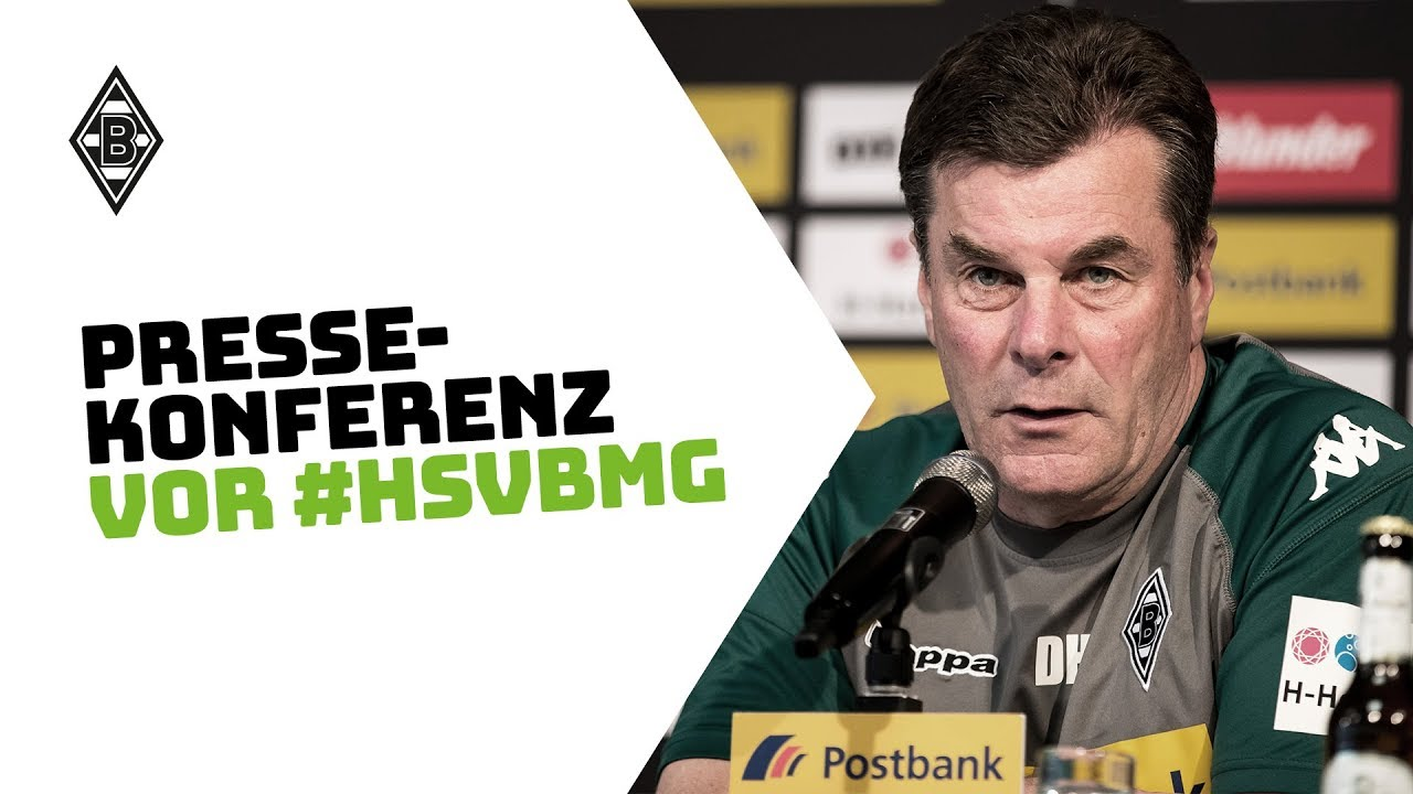 Pressekonferenz vor Hamburg