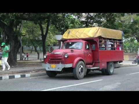 TRUCKS AS BUSES CUBA APRIL 2011