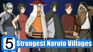 Top 5 Strongest Naruto Villages After Forurth Shinobi World War