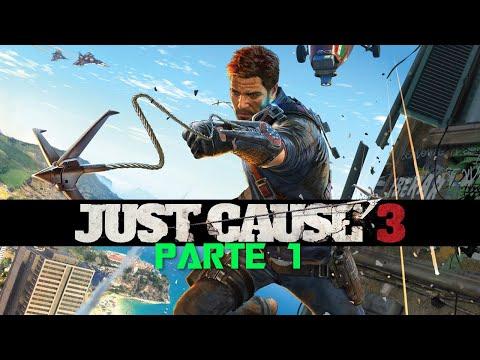 Just Cause 3 PC Español -  Un hombre y Su Paracaídas Parte 1 1080p 60 fps