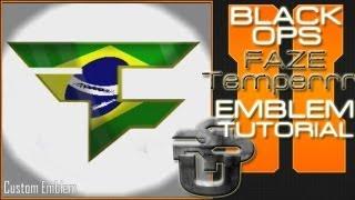 Faze Temperrr Logo Brazil : Call Of Duty Black Ops 2 Emblem Tutorial