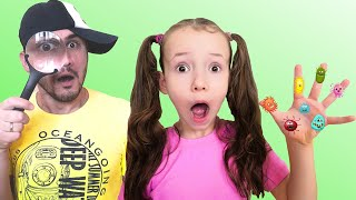 Ulya and papa pretend play safety | Be Safe! Learn kids healthy habits