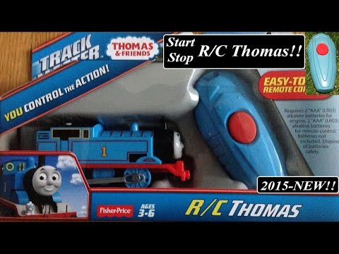 Thomas and Friends Toy Train-Newly Re-designed Trackmaster Remote Thomas!