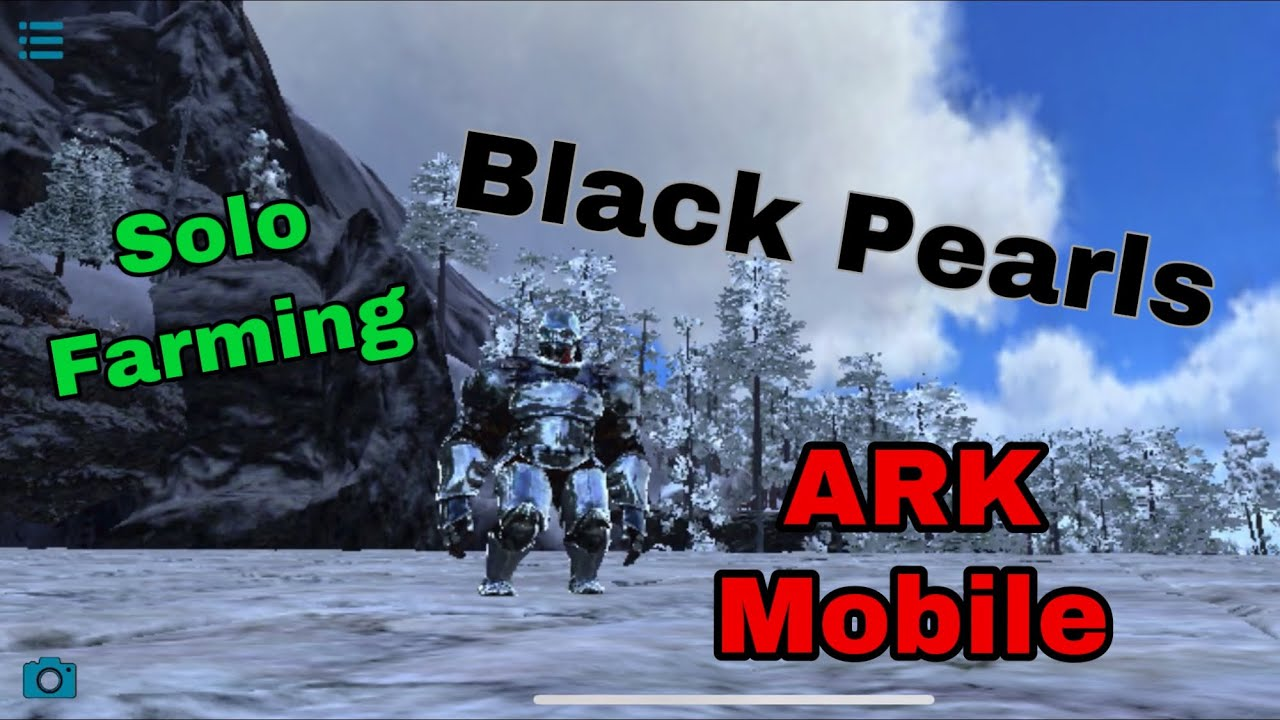 How To Farm Black Pearls In Ark Mobile Best Way To Solo Farm Black Pearls Ark Mobile Solo Farming Youtube Some of the game's best builders have uploaded their awesome creations online, and we scavenged & listed the best of them. how to farm black pearls in ark mobile best way to solo farm black pearls ark mobile solo farming