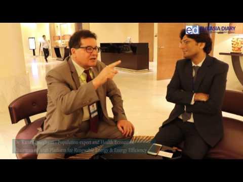 Dr.Kamel Esseghairi, Chairman of Arab Platform for Renewable Energy & Energy Efficiency