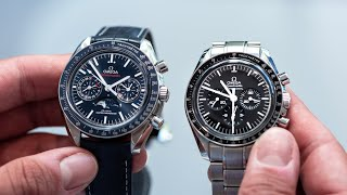 SPEEDY Review: Professional Moonwatch vs. Moonphase: Omega Hands-On with London Jewelers