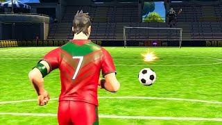 FORTNITE : CRISTIANO RONALDO PLAY FOOTBALL