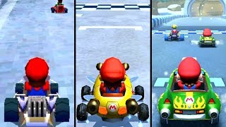 Mario Kart Tour - Winter Tour Track Comparison (2005-2019)