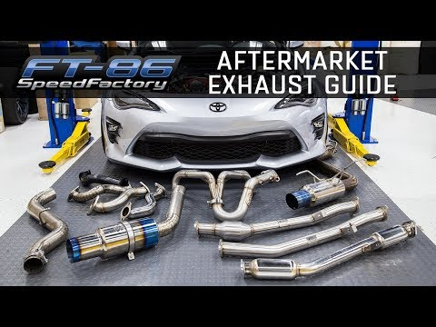 Aftermarket Exhausts | Everything you need to know [FRS/BRZ/86]