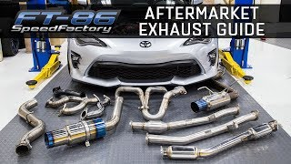 aftermarket exhausts everything you need to know frs brz 86