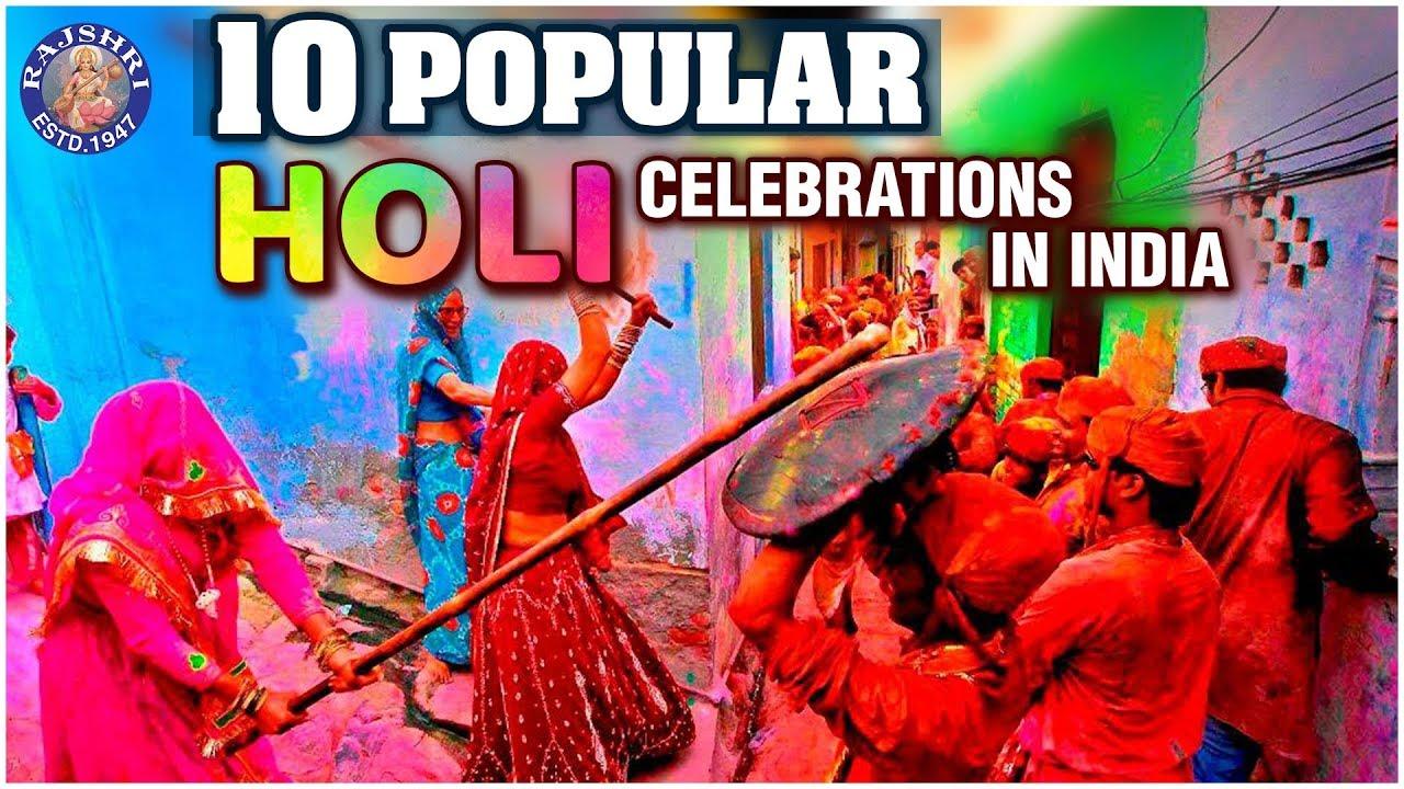 Holi: Hindus across India and Nepal celebrate festival of colours
