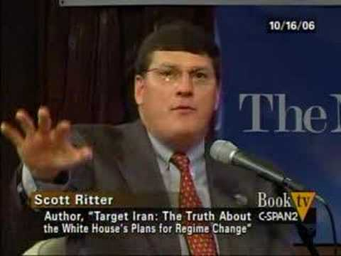 UN Inspector Scott Ritter: Fools would Bomb Iran