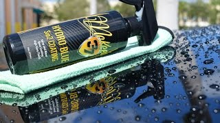 Review: McKee's 37 Hydro Blue SiO2 Spray On Nano Coating   While You Rinse