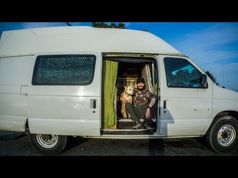 Is this the Most Functional Stealth Camper Van Conversion?  - Updates to Tylers Ford E350.