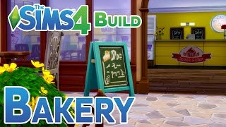 The Sims 4: Bakery Build - Retail Lot, Get To Work