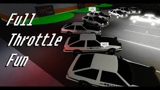 Roblox Full Throttle Fun (admin cars, Raptor rodeo and MemE86 gang)