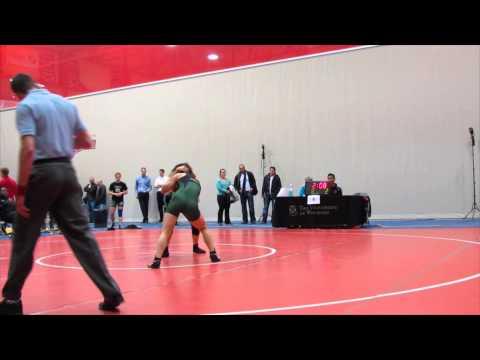 2013 Wesmen Duals: 48 kg Genie Gokhman vs. Annie Monteith