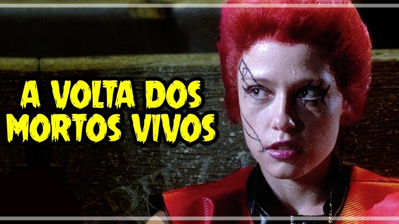 A Volta Dos Mortos Vivos 1985 Critica Rapida Youtube