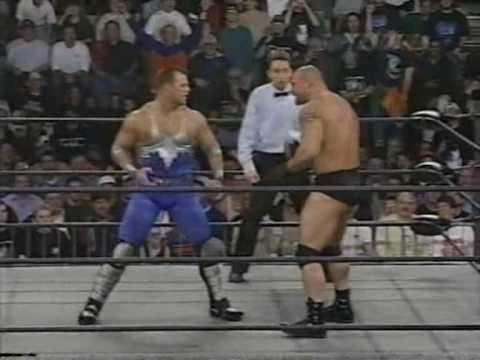 WCW Thunder: February 12th 1998: Goldberg vs. Glacier