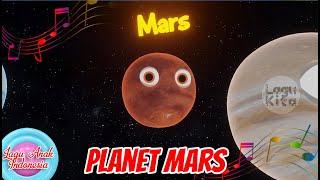 PLANET MARS | 3D | Lagu Anak Indonesia | Lagu Kita #tatasurya #planetmars.