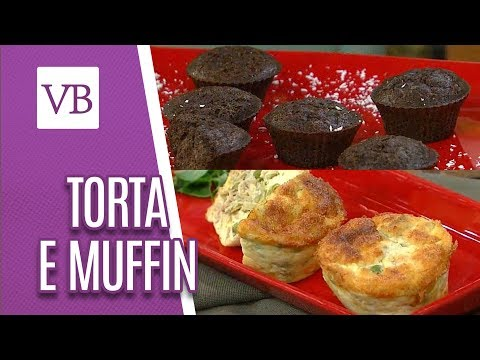 Torta de Atum Sem Farinha e Muffin de Chocolate com Coco - Você Bonita (04/05/18)