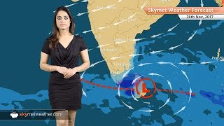 Weather Forecast for Nov 26: Rain in Chennai, TN, Kerala; Cold wave in Rajasthan, UP