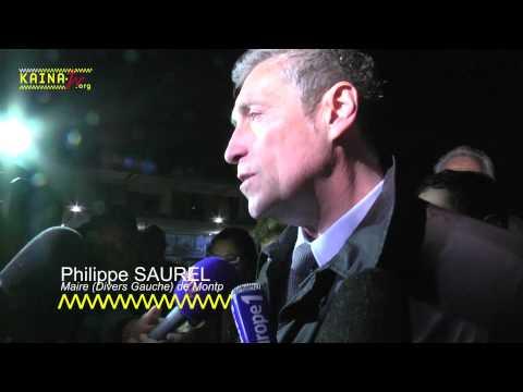 Philippe SAUREL, élu Maire de Montpellier