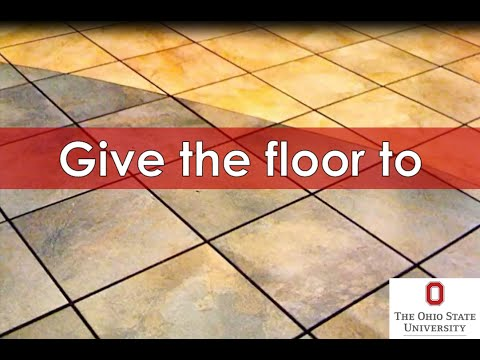 idiom give the floor to youtube