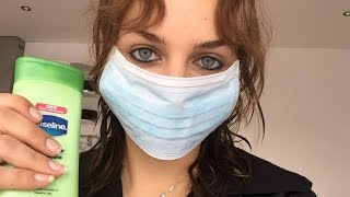 ASMR Doctor Roleplay-Full Muscle EXAMINATION!! ~Mask, Latex Gloves and Lotion Noises~