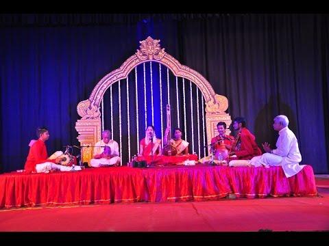 Song 2 of Abirami (vocal) & Rajnarayanan's (mridangam) Arangetram