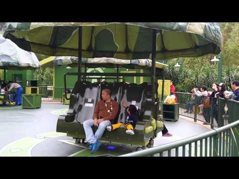 Toy Soldiers Parachute Drop Toy Story Land Hong Kong Disneyland