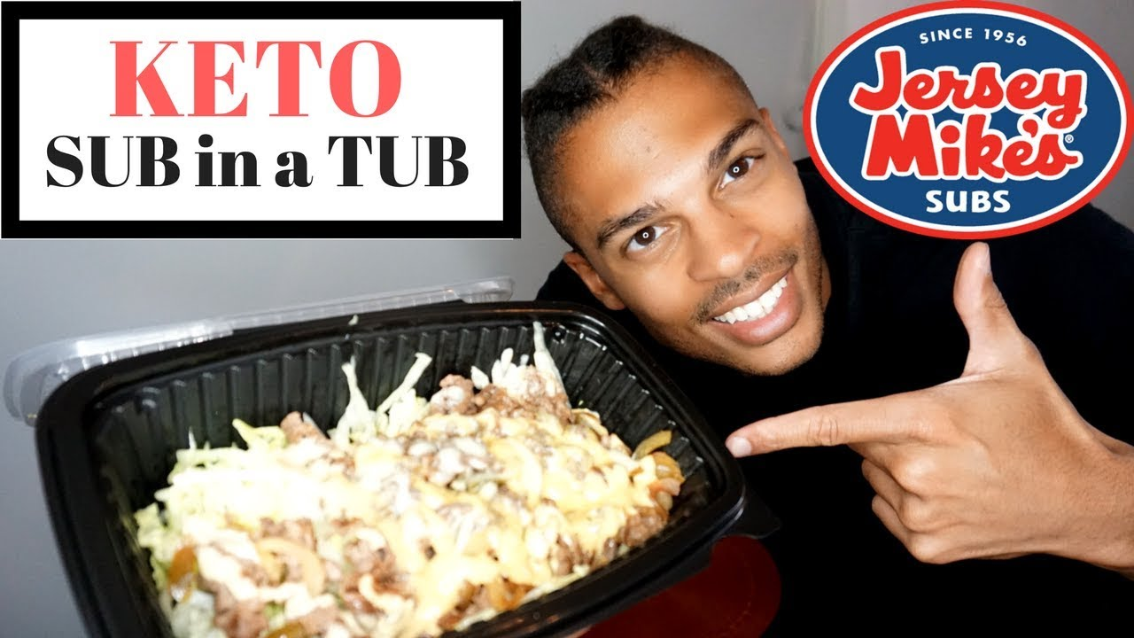 jersey mike's sub in a tub