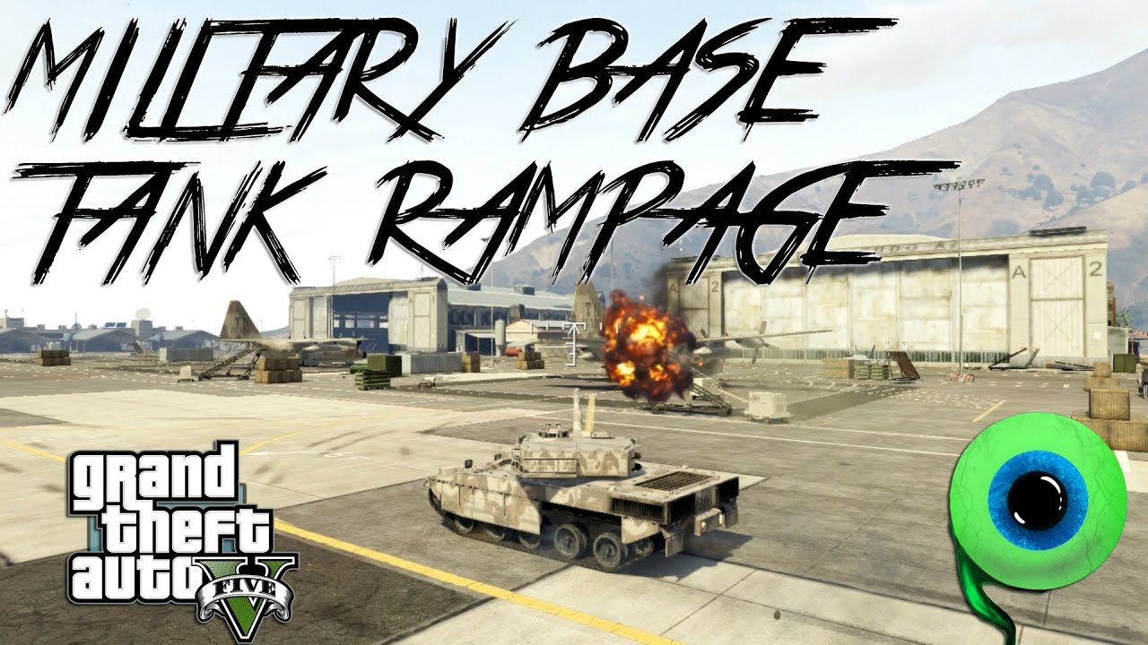 gta v online how to get tank out of base