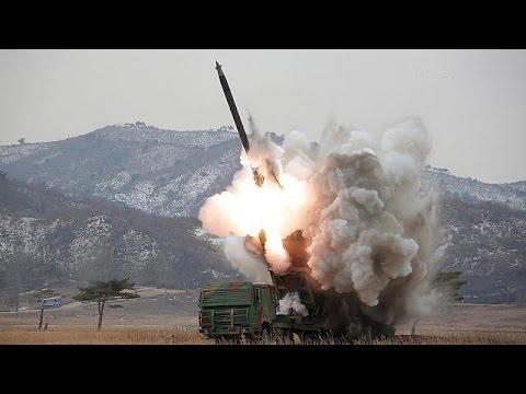 Tensions mount on Korean Peninsula, as Pyongyang fires two more missiles