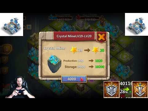 JT's Free 2 Play Top 300 Arena Level 20 Lost Realm LETS GO! Castle Clash