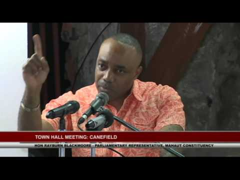 CANEFIELD TOWN HALL MEETING       April 23,  2017