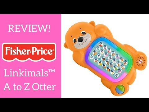 REVIEW! Fisher Price Linkimals A To Z Otter