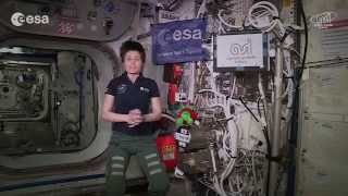 Space greetings to #SpaceApps participants