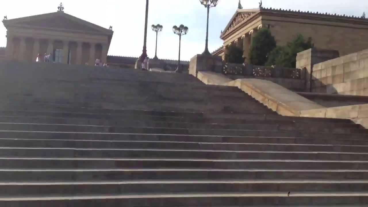 filadelfia la escalera de rocky balboa youtube