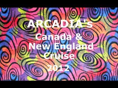 Arcadia's US & Canada Cruise 2012 (J213)