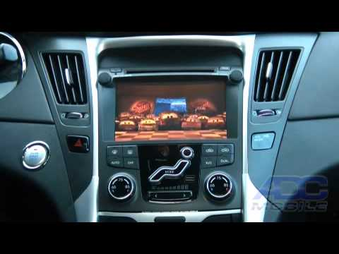 2011 Hyundai Sonata Advent Oe Navigation Source Options