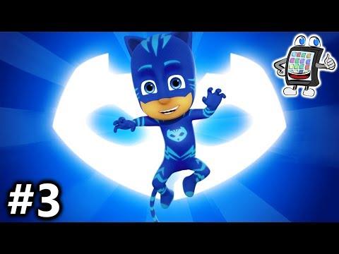 PJ MASKS MOONLIGHT HEROES #3 App deutsch | PYJAMAHELD CATBOY SPRINGT MEGA WEIT! Catwoman als Junge