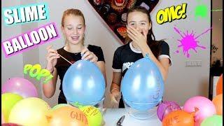 SLIME BALLOON CHALLENGE! | SLIJM MAKEN MET BALLONNEN?!?(English subtitles)