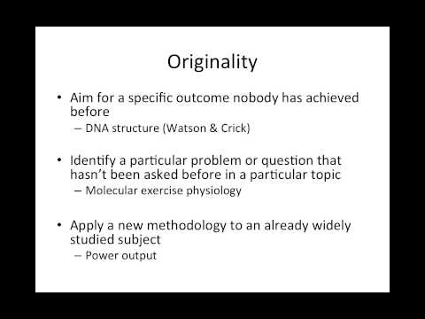 Sports Science Dissertation Topics: Identifying a Research Question