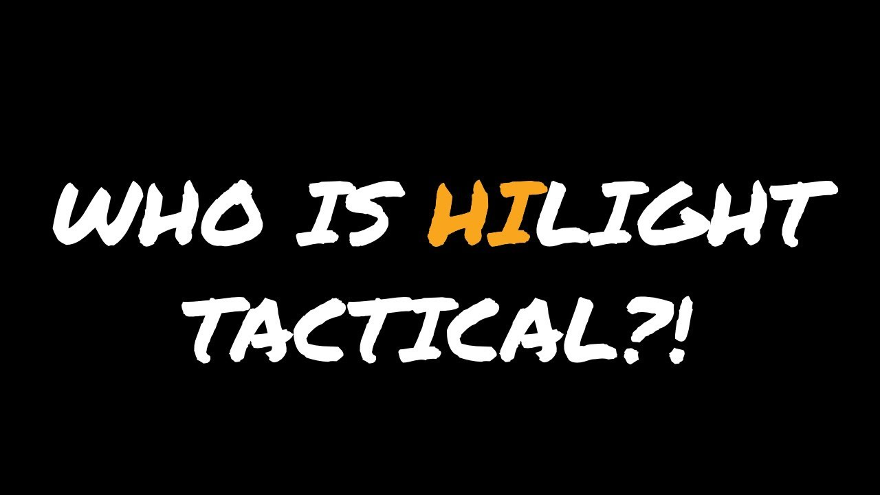 HiLight Tactical Launches NEW YouTube and Instagram Accounts!