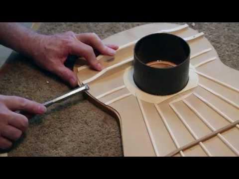Classical guitar making