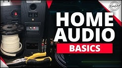 How to Connect Speakers to Amplifiers | Home Audio Basics