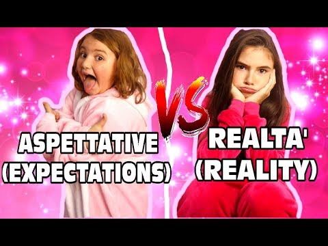 ASPETTATIVE vs REALTA' ( EXPECTATIONS vs REALITY ) by Marghe Giulia Kawaii