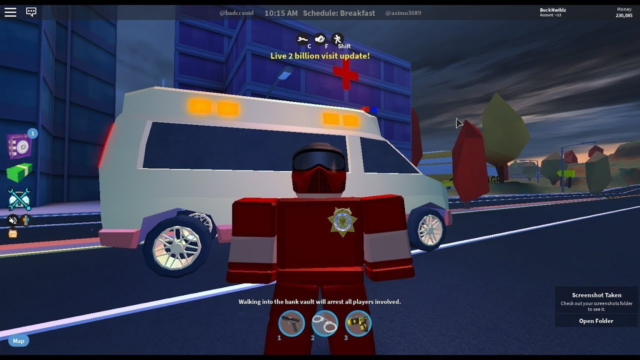 The New Ambulance In Jailbreak New City Roblox Jailbreak 2b Update Youtube